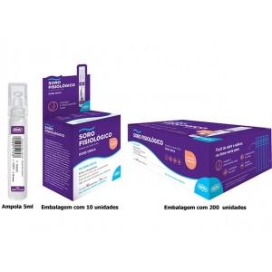 Solução Fisiológica Cloreto de Sódio 0,9% D/U 5ML C/10 ADV