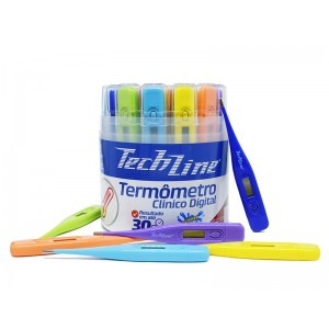 TERMÔMETRO DIGITAL COLOR CONTAINNER TS-101 - TECHLINE