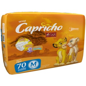 FRALDA DESC. REI LEAO HIPER M 4X70 - CAPRICHO