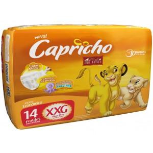 FRALDA DESC. REI LEAO HIPER XXG 4X40 - CAPRICHO