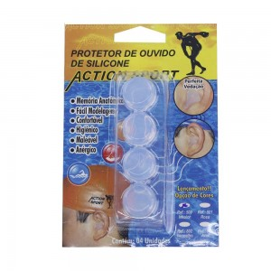 PROTETOR AURICULAR INCOLOR 500 - ACTION SPORT