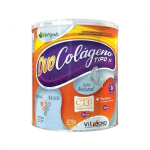 Duo Colágeno + Tipo  II Natural 275g - KATIGUA