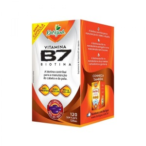 VITAMINA B7 (IDR100%) 125MG 120 MINI CAPS - KATIGUA