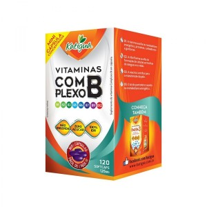 VITAMINA COMPLEXO B 125MG 120 MINI CAPS - KATIGUA