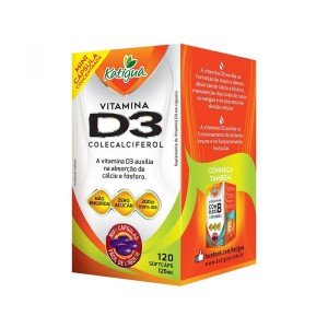 VITAMINA D3 (IDR100%) 125MG 120 MINI CAPS - KATIGUA