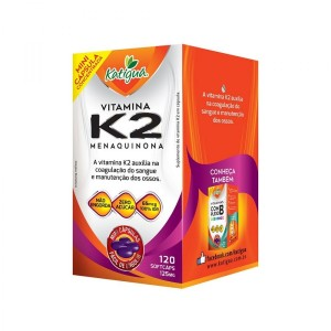 VITAMINA K2 (IDR100%) 125MG 120 MINI CAPS - KATIGUA