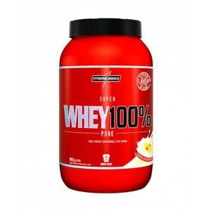 SUPERWHEY 100% 907G V2 BAUNILHA - INTEGRALMEDICA