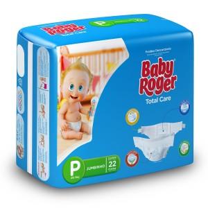 Fralda Descartável Total Care Jumbinho P 12X22 - BABY ROGER