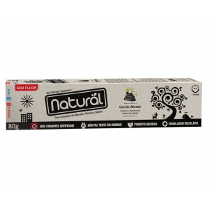 GEL DENTAL C/CARVAO ATIVO 80G-NATURAL SUAVETEX