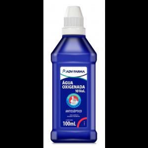 Água Oxigenada 10 Vol. 100ml Caixa c/ 24 unidades - ADV