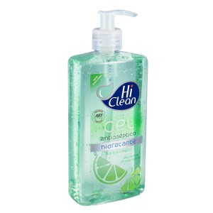 GEL ANTISSEPTICO HID EXTRATO FRUTAS CITRICAS 500ML-HI CLEAN