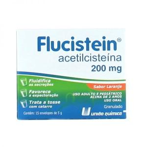 FLUCISTEIN 200MG / 5G ENV X15 - UNIAO QUIMICA
