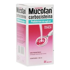 MUCOFAN PED 20MG/ML XPE 100ML - UNIAO QUIMICA