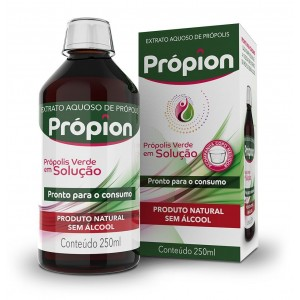 EXTRATO PROPOLIS VERDE S/ALCOOL SOLUC 250ML PROPION-BALDONI