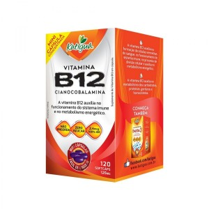 VITAMINA B12 (IDR100%) 125MG 120 MINI CAPS - KATIGUA.