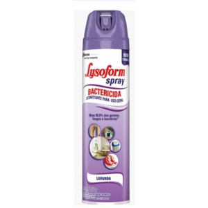 DESINFETANTE BACTERICIDA SPRAY LAVANDA 360ML - LYSOFORM