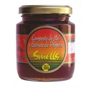 COMPOSTO DE MEL E EXTRATO DE PROPOLIS 300G - SMELLS