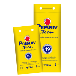 PRESERVATIVO TEEN DISPLAY 6X6 - PRESERV