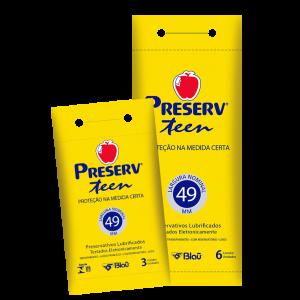 PRESERVATIVO TEEN DISPLAY 6X6 - PRESERV