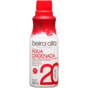 AGUA OXIGENADA 20VOL. 90ML - BEIRA ALTA