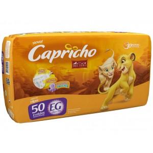 FRALDA DESC. REI LEAO HIPER EG 4X50 - CAPRICHO