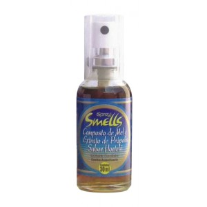 COMPOSTO MEL E EXTRATO PROPOLIS HORTELA SPRAY 30ML-SMELLS