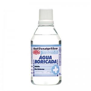 Agua Boricada  3% 100ML CX.C/24 COD.7 - ADV