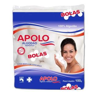 ALGODAO BOLA BRANCO 100G - APOLO