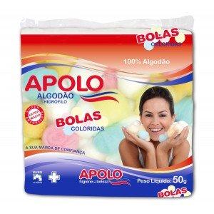 ALGODAO BOLA COLORIDO 50G - APOLO
