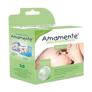 Concha Flexível antiempedramento c/2 - AMAMENTE