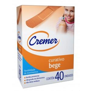 CURATIVO BEGE C/40 - CREMER