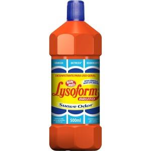 Lysoform Desinfetante Bruto Suave 500ml  LYSOFORM