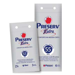 PRESERVATIVO EXTRA DISPLAY 6X6 - PRESERV