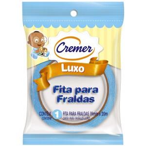 FITA ADESIVA PARA FRALDA MENINO 19MMX20M - CREMER