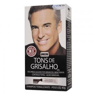 SH TONALIZANTE TONS DE GRISALHO 40G - GRECIN.