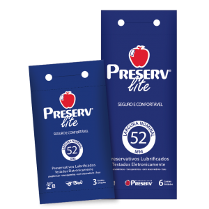 PRESERVATIVO LITE DISPLAY 6X6 - PRESERV