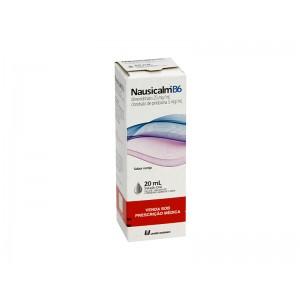 NAUSICALM B6 25 + 5MG/ML SOL OR FR X 20ML - UNIAO QUIMICA.