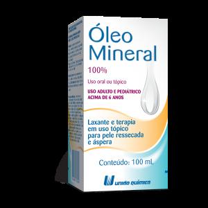 OLEO MINERAL 100ML - UNIAO QUIMICA.