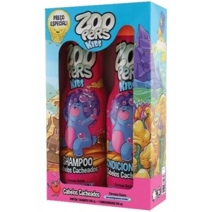 SH 500ML + COND 500ML CABELOS CACHEADOS - ZOOPERS.