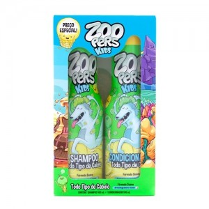 SH 500ML+COND 500ML TODOS TIPOS CABELO-ZOOPERS.