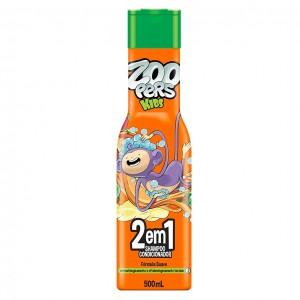 Shampoo e Condicionador 2 em 1 500ML - ZOOPERS