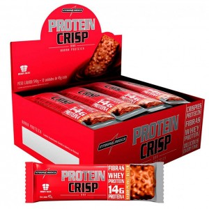 CRISP BAR 540G PEANUT BUTTER DISPLAY C/12 - INTEGRALMEDICA