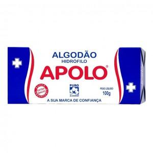 ALGODÃO CAIXA 100G - APOLO