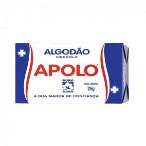 ALGODÃO CAIXA 25G - APOLO