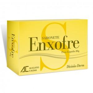 SABONETE ENXOFRE 90G - AUGUSTO CALDAS