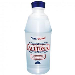 REMOVEDOR C/36% ACETONA 500ML -SANCARE SANFARMA