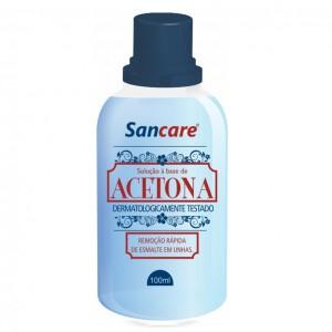 REMOVEDOR C/36% ACETONA 100ML SANCARE -SANFARMA