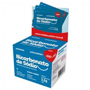 Bicarbonato de Sódio Sachê 2,5g Cartela com 10 unidades COD.433 - ADV