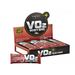 VO2 PROTEIN BAR 360G FRUTAS VERMELHAS C/12-INTEGRALMEDICA